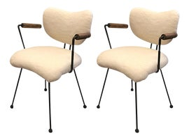 Image of Fur Accent Chairs