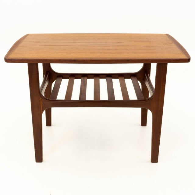 Mid 20th Century Mid Century Modern Teak Occasional Table For Sale - Image 5 of 10
