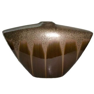 Hollywood Regency, Mid Century Large Shimmery Vase