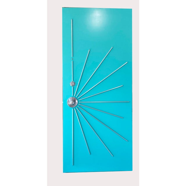 Metal Mid-Century Modern Door for Residences For Sale - Image 7 of 12
