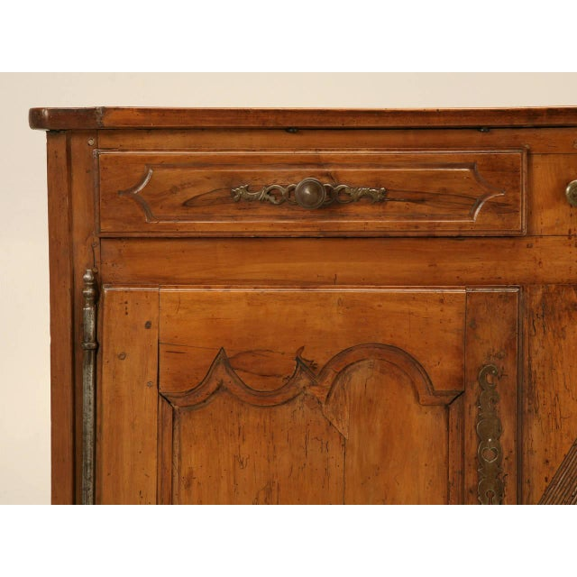 Louis XV Country French Antique Buffet For Sale - Image 3 of 10