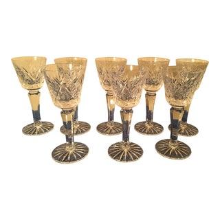 Vintage Crystal Stem Cordial - Set of 8 For Sale