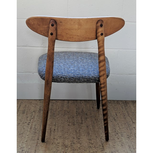 Baumritter 1960s Vintage Baumritter Style Side Chair For Sale - Image 4 of 11