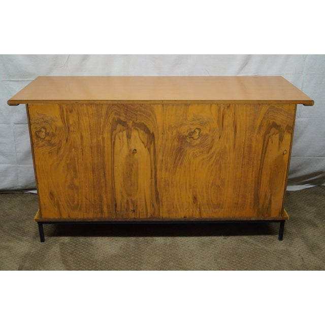 Mid-Century Bamboo Rattan Sideboard Credenza - Image 4 of 10