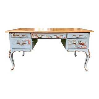Ethan Allen Country French Writing Desk For Sale