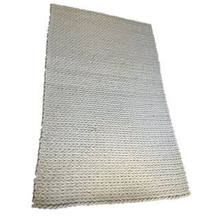 Surya New Zealand Wool Braided Rug - 5′ × 8′ For Sale