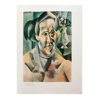 """1985 Pablo Picasso, """"Portrait of Fernande"""" Original Parisian Photogravure For Sale"""