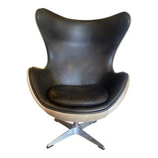 Arne Jacobsen Style Egg Chair For Sale