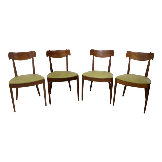 Kipp Stewart for Drexel Declaration Chairs - Set of 4 For Sale