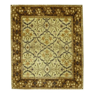 """Tufenkian Silk and Wool Carpet, 11'11"""" X 14'2"""" For Sale"""