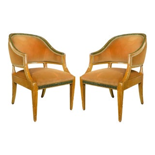 Pair of American 1940s Armchairs