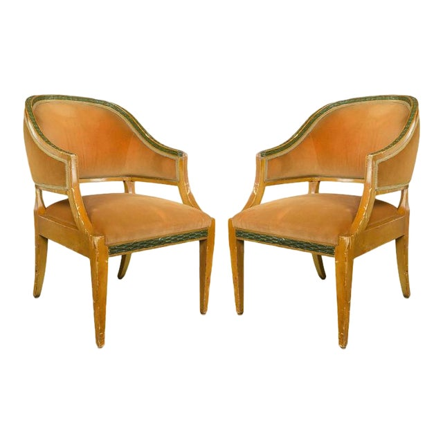 Pair of American 1940s Armchairs - Image 1 of 10