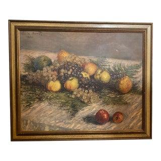 Claude Monet Impressionist Still Life Print For Sale