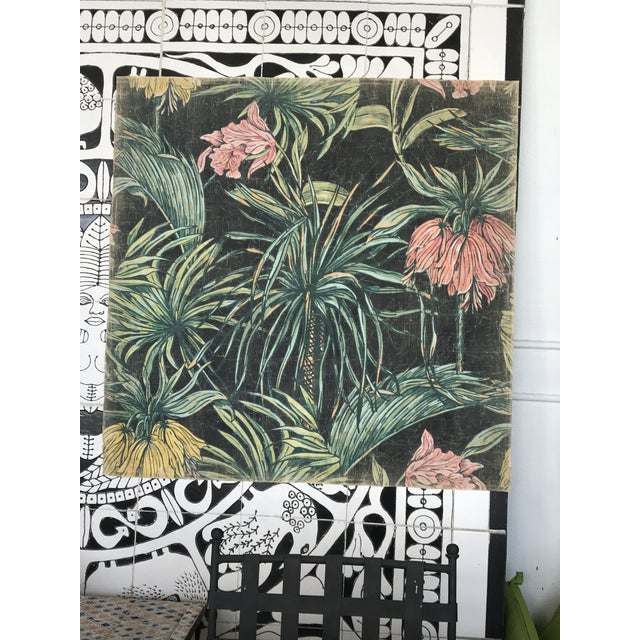 Hand Painted in France this art can be used as Wallpaper, can be framed and be an amazing piece of decoration. Featuring...