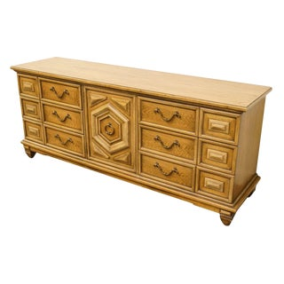 Thomasville Furniture Italian Neoclassical Tuscan Style Madeira Collection Dresser For Sale