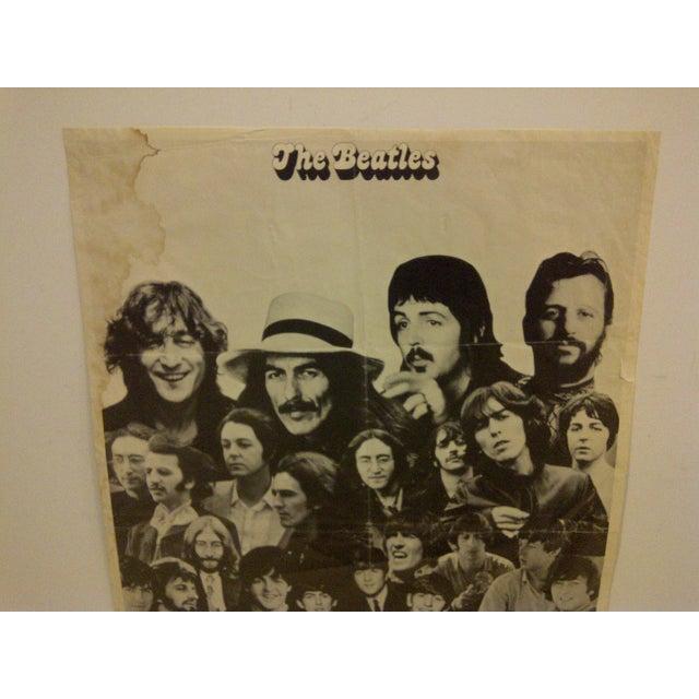 Vintage Beatles Poster Circa 1960 - Image 4 of 6