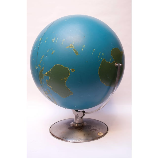 Industrial Large-Scale Vintage Military Globe / Activity Globe by a.j. Nystrom For Sale - Image 3 of 13