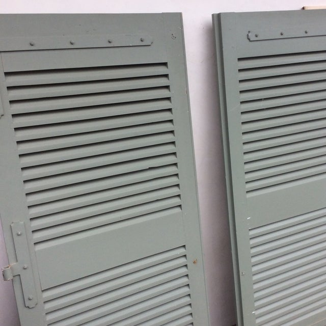 Paint French Shutters- a Pair For Sale - Image 7 of 11