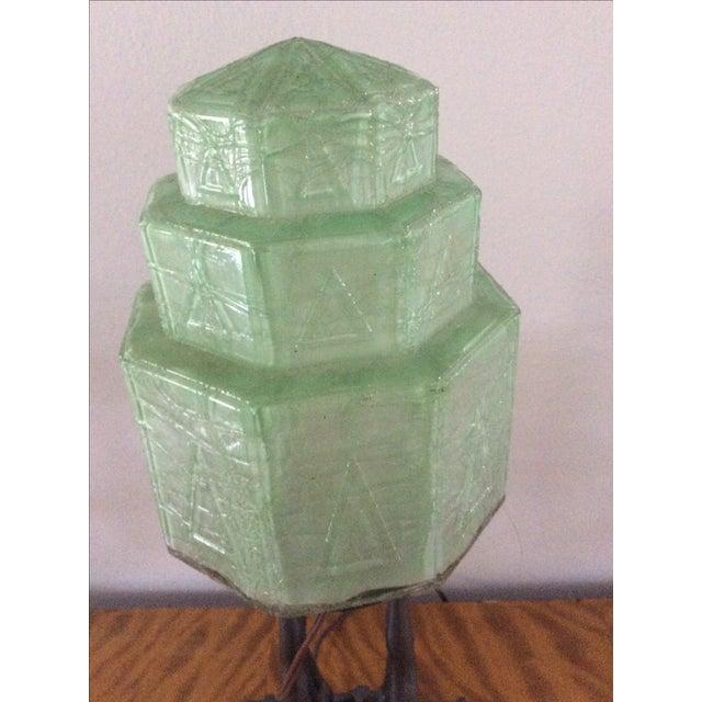 Original Frankart Art Deco Lamp - Image 4 of 6