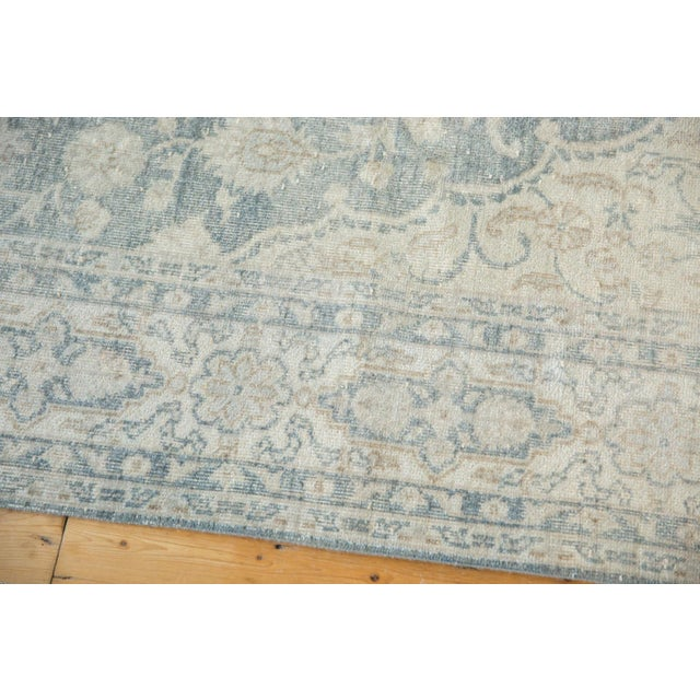 """Rococo Vintage Distressed Oushak Carpet - 6'6"""" X 9'7"""" For Sale - Image 3 of 13"""