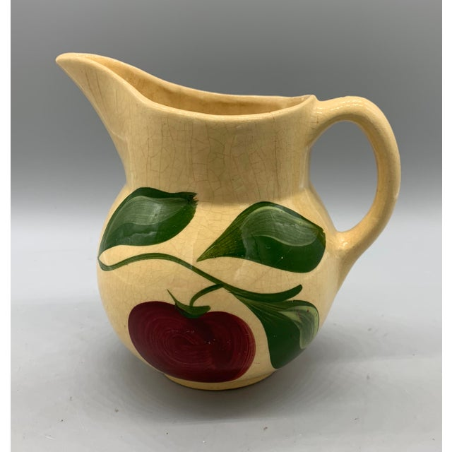 Watt Pottery's Apple Pitcher For Sale - Image 9 of 9
