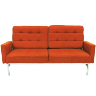 1960s Florence Knoll Parallel Bar Settee
