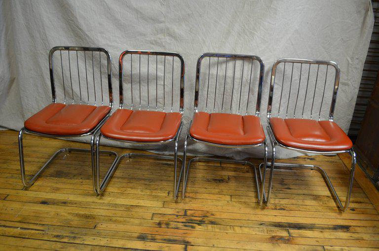 Attirant Shelby Williams Mid Century Dining Chairs   Set Of 4   Image 4 Of 10