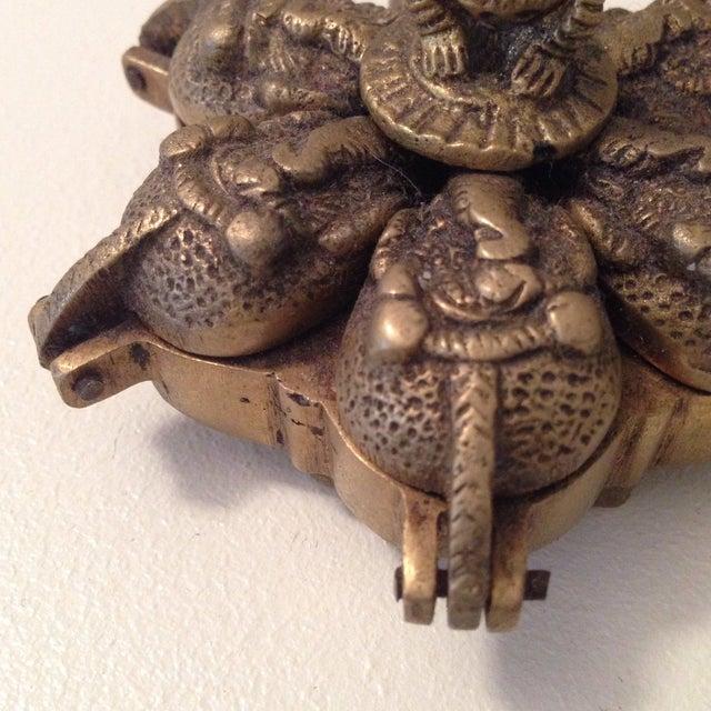 Folding Lotus Ganesha Box - Image 4 of 8