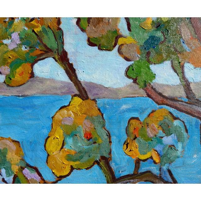 Monumental - Santa Barbara Hills Oil Painting Framed For Sale - Image 4 of 8