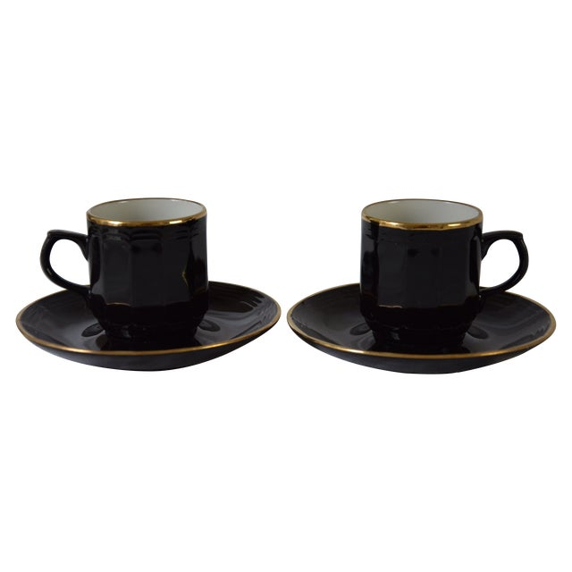 Vintage West German Demitasse Cups - A Pair For Sale