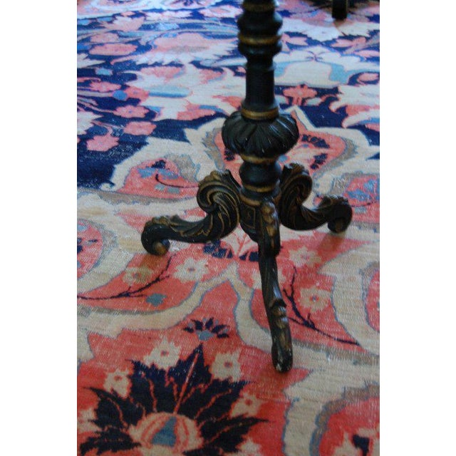 Mid 19th Century Pair of Chinoiserie Swedish Tilt-Top Tables For Sale - Image 5 of 11