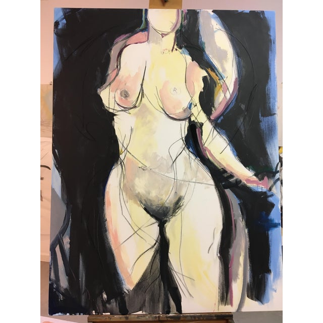 'Woman I' Contemporary Painting - Image 2 of 4