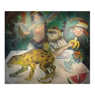 Joan Gardner Massive Painting (signed)