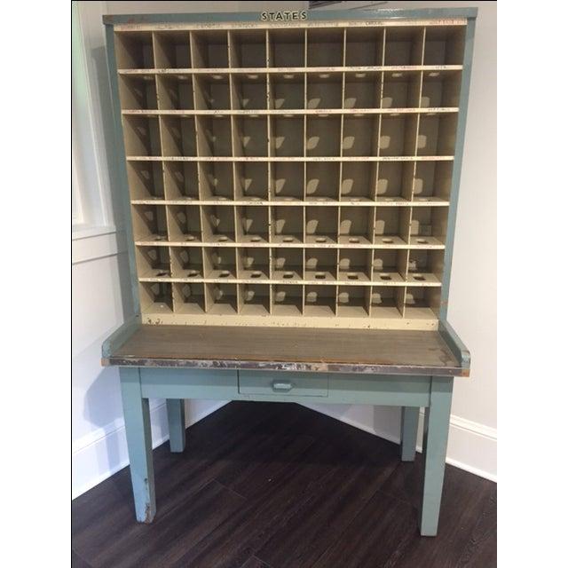 Vintage Postal Cabinet - Image 2 of 11