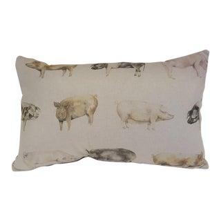 Pig Bolster Pillow