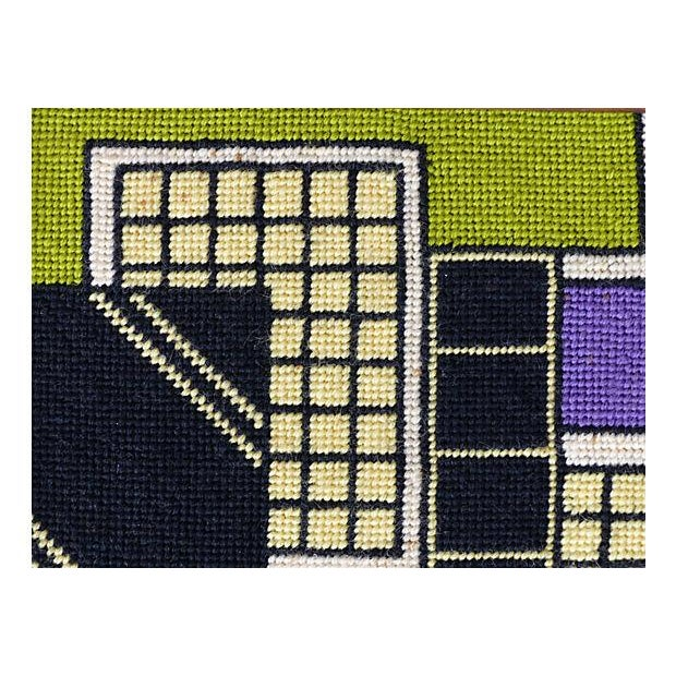 Framed Needlepoint Textile, Dated 1972 - Image 7 of 10