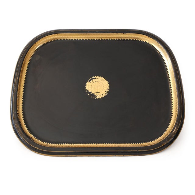 Italian Tole Tray For Sale - Image 10 of 10
