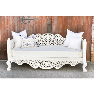White Carved Anglo Indian Daybed Preview