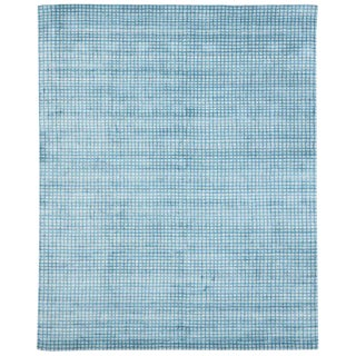 Contemporary Beach Style Area Rug - 8′1″ × 9′10″ For Sale