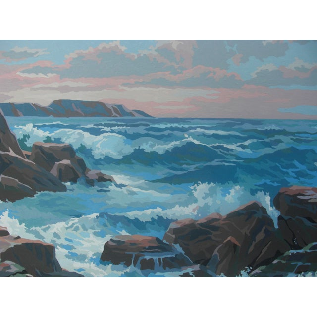 Paint by Numbers Ocean Seascape - Image 3 of 3
