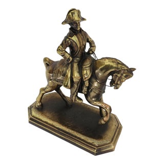 Napoleon on Horseback Figurine For Sale