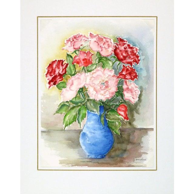 Vintage Watercolor - Blooms of Ardor - Image 3 of 3
