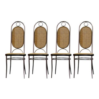 Art Deco Thonet Style Dining Chairs - Set of 4