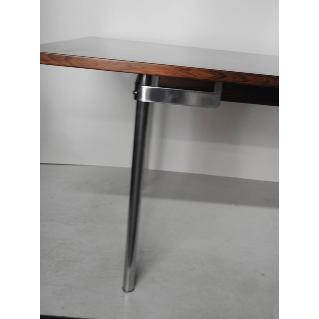 Mid-Century Modern Hans Wegner for Andreas Tuck AT-322 Rosewood Dining Table For Sale - Image 3 of 9
