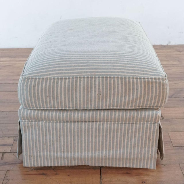Michael Thomas Armchairs and Ottoman- 3 Pieces For Sale In San Francisco - Image 6 of 13