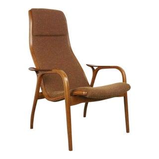1960s Vintage Yngve Ekström for Swedese Lamino Chair For Sale