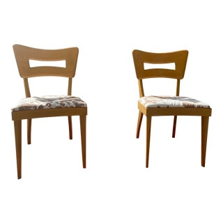 "Heywood-Wakefield ""Dog Bone"" Chairs - a Pair For Sale"