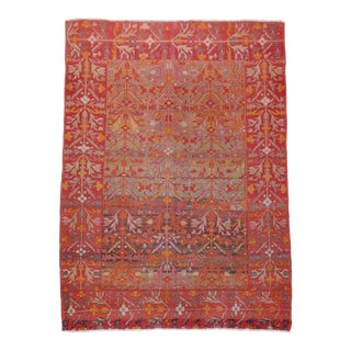"""Antique Persian Malayer Rug - 4'6"""" X 6'8"""" For Sale"""