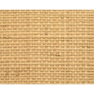 Hinson for the House of Scalamandre Hinson Madagascar - Coarse Wallpaper in Natural For Sale