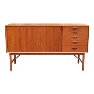 Hvidt & Nielsen Danish Mid Century Modern Teak Credenza Dresser For Sale